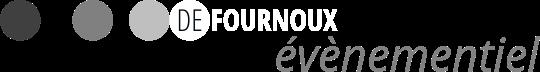 Logo Defournoux l'agence évènementielle officielle hospitalité 24h du Mans