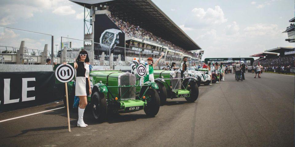 Visuel vehicules anciens le Mans Classic VIP Panoramique