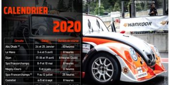 Calendrier Funcup 2020