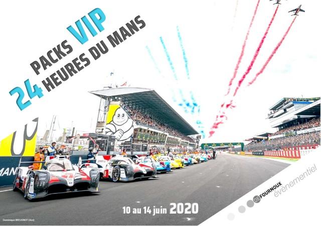Brochure Pack VIP 24h du Mans