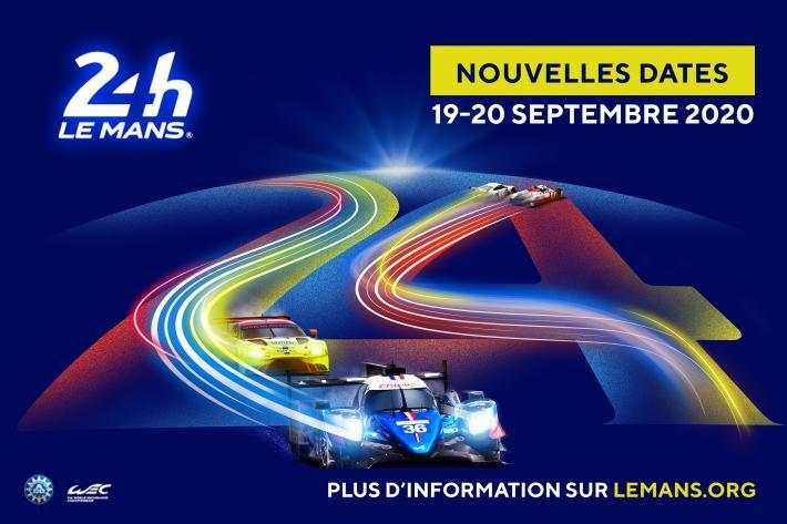 Report des 24 Heures du Mans 2020