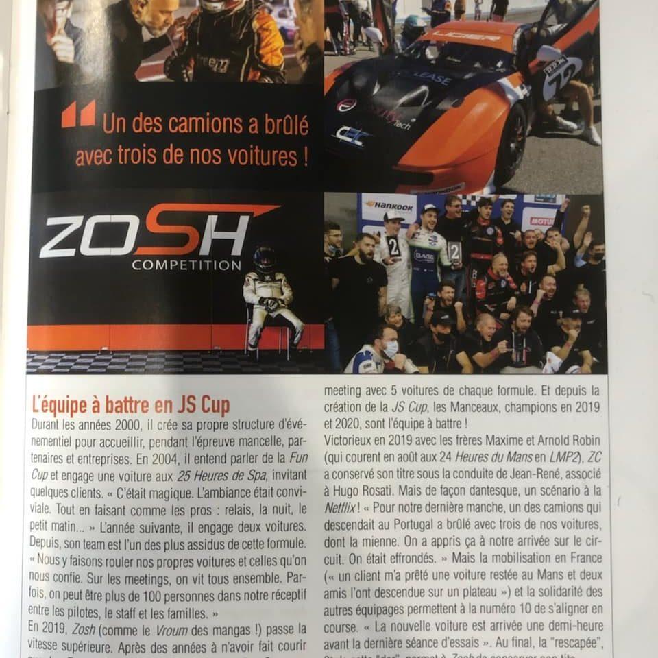 article zosh compétition happy sitiz